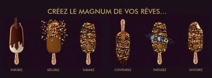 magnum pop up- Foodie parisienne