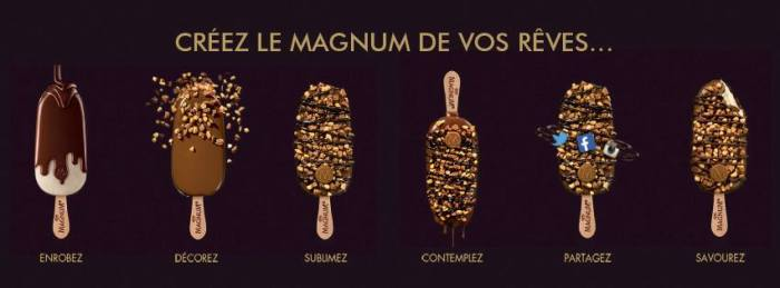 magnum pop up- Foodie parisienne