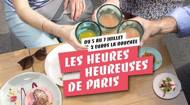 foodie parisenne - heures heureuses 2017